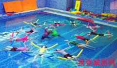 水中瑜伽 修饰体型瘦局部