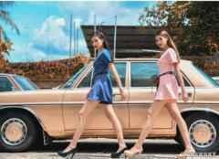 撞脸赫本vs高级性感 马来西亚混血颜双胞姐妹花